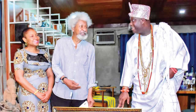 Defend your lands, Ooni, Soyinka, tell Nigerians